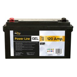 Batterie 120A Powerline AGM GEL - POWERLIB