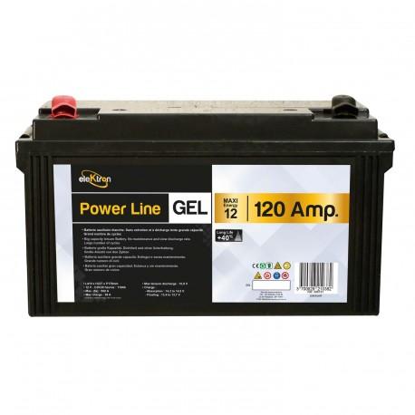 Batterie 120A Powerline AGM GEL - POWERLIB