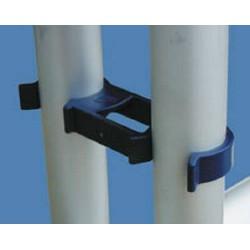 Pinces de blocage Rack Holder bleu (par 2)