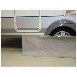 Jupe d'auvent PVC avec jonc CLAIRVAL (au mètre) - H:50 cm